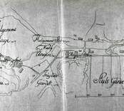 Karta över Helgerums säteri 1791.