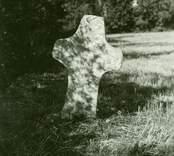 Det medeltida korset i Tjusby.
