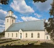 Motiv från Madesjö kyrka.