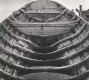 Storbåten av år 1884, Sedd mot akten. Perspektivet något överdrivet, varför akten synes smalare än den är i verkligheten.