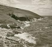 Motiv från Nationalparken Blå  Jungfrun.