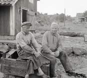 Bröderna Seth och Karl Franzén.