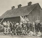 Pukebergs äldsta glashytta, nerbrunnen 1888.