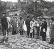 Från styrelsens besök vid Simpevarp den 3 - 4 maj 1960.
