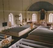 Bäckebo kyrka efter renoveringen 2003.
