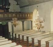 Interiör från Ankarsrums kyrka.