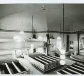 Hälleberga kyrka före branden 1976.