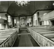 Altaret i Hälleberga kyrka.