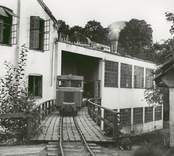 Tågtransport vid en industri i Edsbruk.