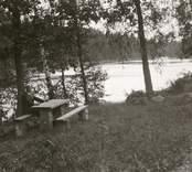 Strandbild från Hjorted.