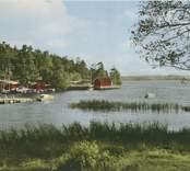 Vykort med motiv från Källvik.