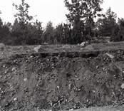 En stenåldersboplats i Lilla Mark.