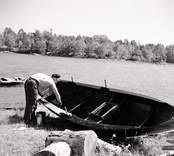 Ökan tjäras. Foto: 27/07 1955.