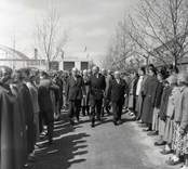 Gustaf VI Adolfs Eriksgata i Kalmar län 15 - 18 maj 1954