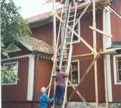 Renovering av Spinkekullen i Flivik.