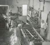 Barkning i cellulosafabriken i Edsbruk.