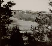 Skog, åkermark och Lunds by.