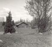Gammal boplats vid landsvägen mellan Hökfors och Sandslätt.