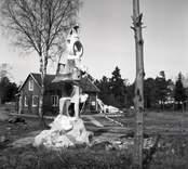 Arvid Källströms skulpturer.