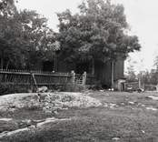 Länsmansboställe, exteriör uthus. Foto: 28/9 1944.