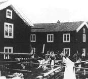 Garveriet i Nybro vid Bolanders bäck.