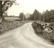 Grusväg i Västra Aplaryd.