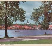 Västervik, från Slottsholmen.