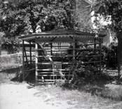 En trädgårdspaviljong i Figeholm.