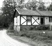 Korsvirkeshus i Gränerum.  Foto: Susann Johannison 1994