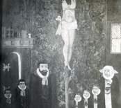 Gladhammar kyrka: Kyrkoherde Zacharias Benedicctic Retzius och hans familjs epitafium.