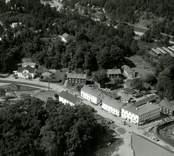Flygbild över Överum.