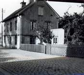 Gatuvy från Oskarshamn.