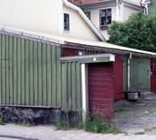 Uthus i kvarteret Briggen, Västervik.