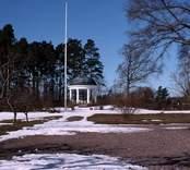 Lusthus med park på Påskallaviks herrgård.