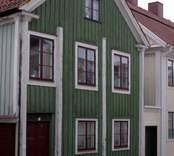 Fastighet i kvarteret Briggen, Västervik.