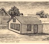 Den gamla kopparslagareverkstaden. Nybro [Gårdsbild]