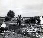 Från utgrävningarna i Skedemosse.