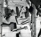 Instrument som används inom arkeologin.