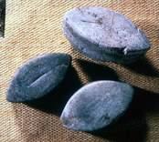 Föremål som påträffades vid utgrävningarna av Skedemosse.