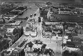 Foto över Malmö stad.