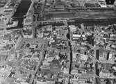 Flygfoto av Malmö stad