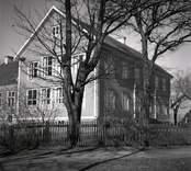 En skola som var byggd på 1860-talet.
