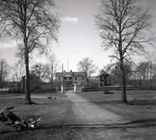 Fagerhults gård. Huvudbyggnaden med flyglar.
