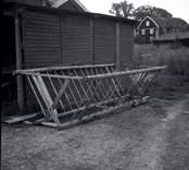 Höhäck på en gård i Figeholm.