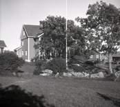 Figeholms skärgård, bostadshus på Örö som då fotot togs innehades av Wirsén.