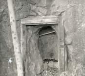Gruvingång vid  Solstad gruva.