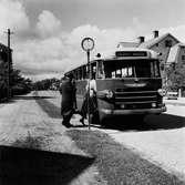 FEL (spegelvänd bild!) Bussen till Stora torget.