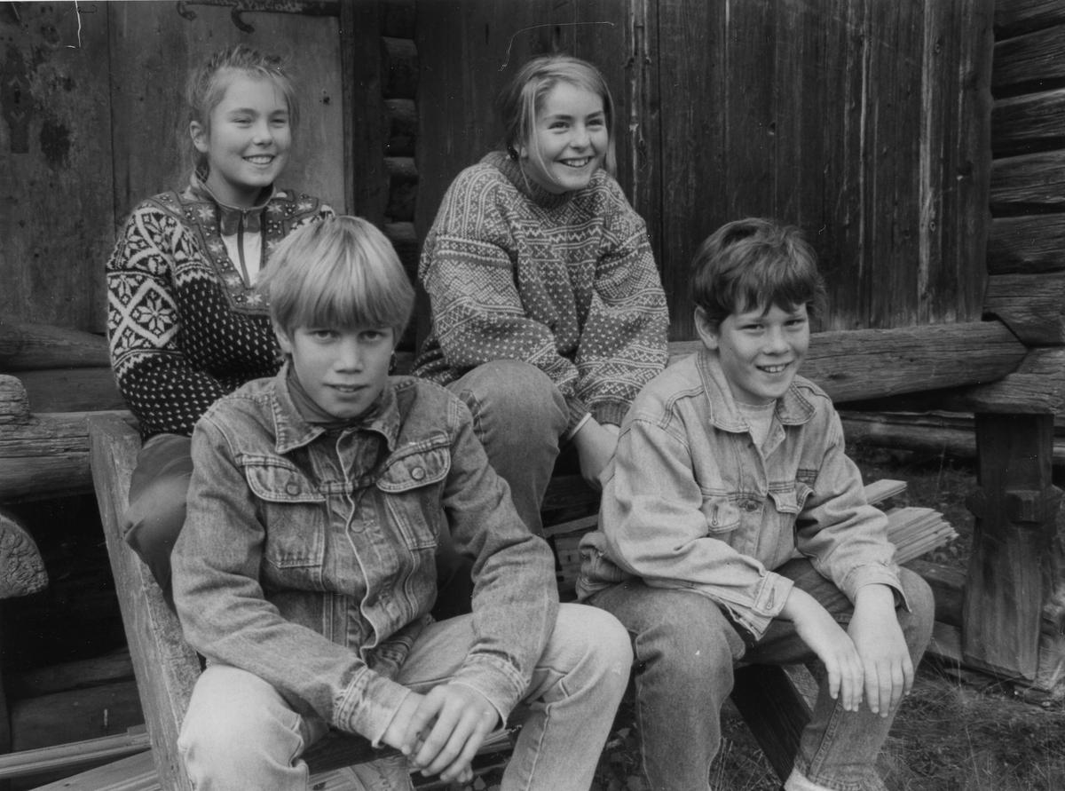 Kvikne skole - semifinalister i 5 PÅ. (Foto/Photo)
