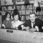 Gunnar Viklund och Yvonne Norrman, dec 1960