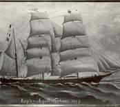 Bark, 337 ton. Byggd i Västervik 1877. Senare omriggad till skonareskepp. Redare C.D.Westermark, Hörde 1910 hemma i Brantevik.